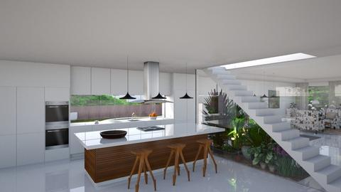 Estoril II - Modern - Kitchen  - by Claudia Correia