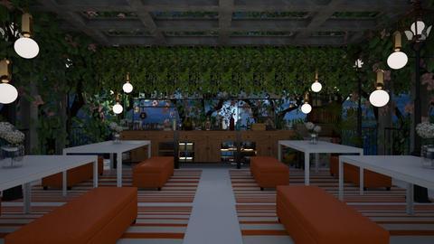orange hotel - by nihalruttala