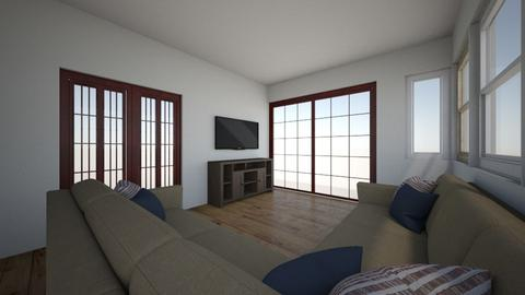 tv room option 2 - Living room  - by solot