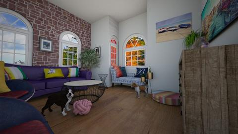 Living Room 1 - Living room  - by ziva mae