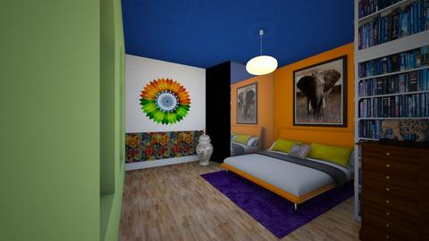 Bedroom in India Colours - Bedroom  - by Tupiniquim