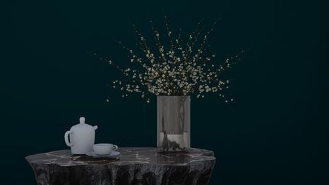 Plant Tea Table - Modern - Living room  - by HenkRetro1960