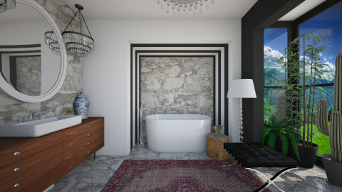 This and That Bath - Eclectic - Bathroom  - by 3rdfloor