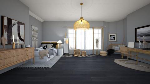 modern - Bedroom  - by annikaleonardi