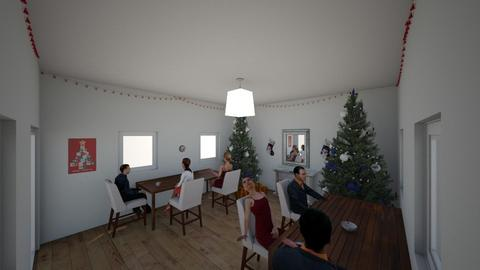 Christmas Dinner - Classic - Dining room  - by Adogworld
