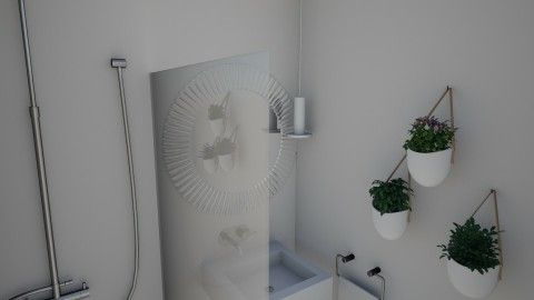 Guest Bedroom 1_1 - Minimal - Bathroom  - by daniellelouw