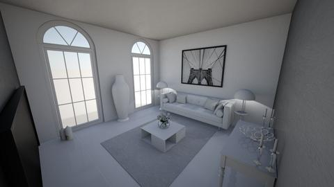 Color Psychology - Living room  - by Sal_Erives