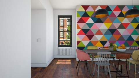 Colors and Shapes - Modern - Dining room  - by Maria Esteves de Oliveira