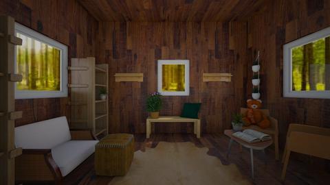 Tree House - by BlobbyFish