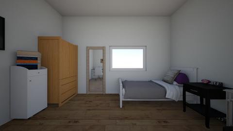pieza dani - Bedroom  - by veguitx