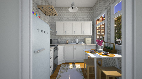 First property kitchen - Eclectic - Kitchen  - by martinabb