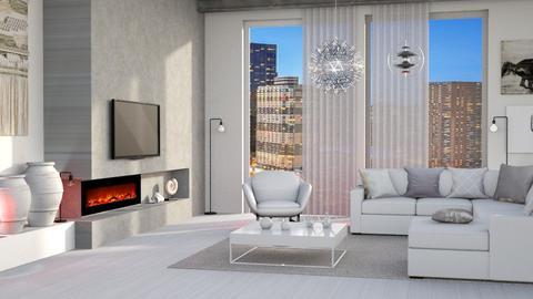 minimal living room - Living room  - by Moonpearl