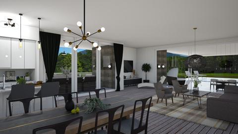 FERIENHAUS - Modern - Living room  - by zarky