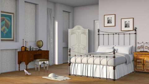 Vintage Chic - Bedroom - by RaeCam
