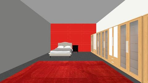 bedroom - Modern - Bedroom  - by hafsabintimran