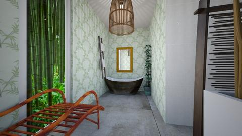 Bamboo Bathroom - Bathroom  - by mjz6202007
