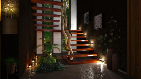 Stairway - Modern - by ZsuzsannaCs