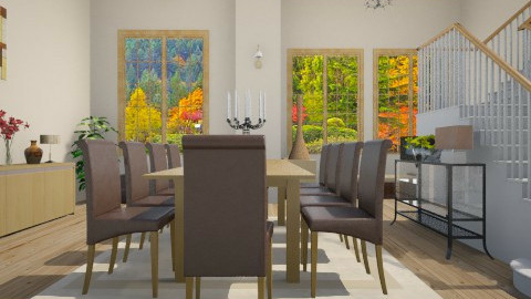 Cassia - Classic - Dining room  - by Cassiane Pires