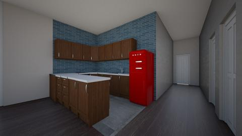 apartment kitchen - Kitchen  - by bellAAAAAAAAAA