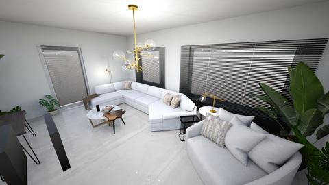 Heislagsebaan Beneden - Living room  - by Jenniferdasss