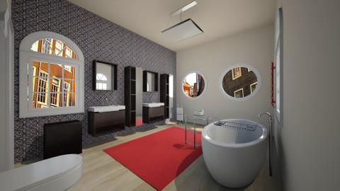 city bathroom - Modern - Bathroom  - by franciss