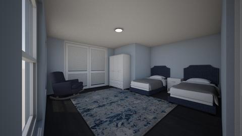 House_Design_2 Bedroom_2 - Modern - by CarlockE
