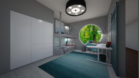 Teen Twin Bedroom - Modern - Kids room  - by mydreamjob25