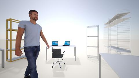 OFICINA Impresion 3D V2 - Modern - Office  - by ADDWorks