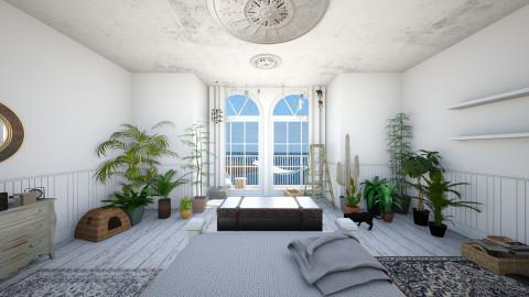 Room 1 - Rustic - Bedroom  - by Klaudia O