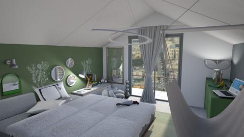 Teen sage - Bedroom  - by augustmoon