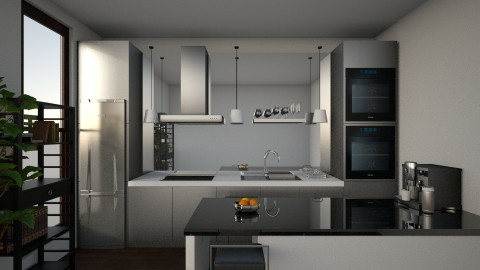 commercial kitchen - Masculine - Kitchen - by vicci