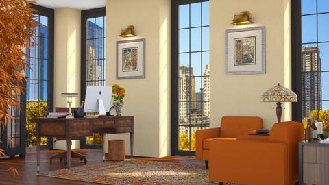 Autumn Office Decor - Office  - by GraceKathryn
