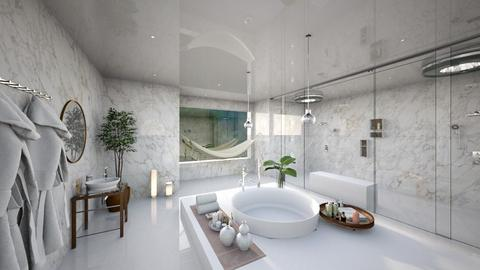 minimalist bathroom  - Minimal - Bathroom  - by ritapireva