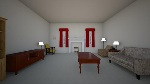 Compact Old Apartment - Living room  - by WestVirginiaRebel