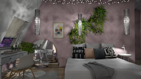 teen - Bedroom - by anjaam