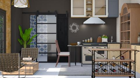 Boho Coma - Modern - Kitchen  - by Gurns