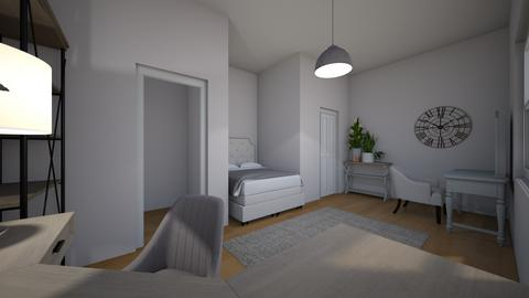 rooms - Bedroom  - by hufflepufflee
