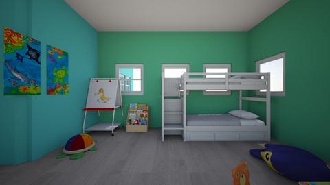 Mansion bedrrom - Bedroom  - by BookWorm23