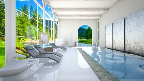 Spa - Minimal - Bathroom  - by deleted_1524503933_Architectural