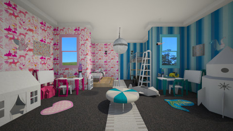 Fair Play - Kids room - by Nicky West