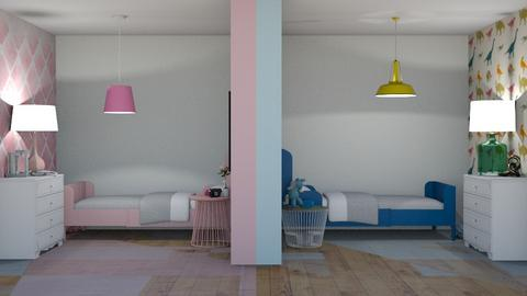 Girls V Boys - Bedroom  - by rona123