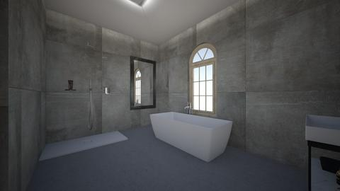 bathroom 1 - Minimal - Bathroom - by mollysamuel