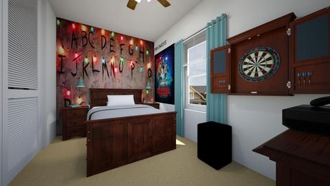 Stranger Things Fan - Bedroom  - by SammyJPili