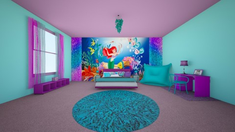 Mermaid Bedroom - Classic - Kids room  - by creato