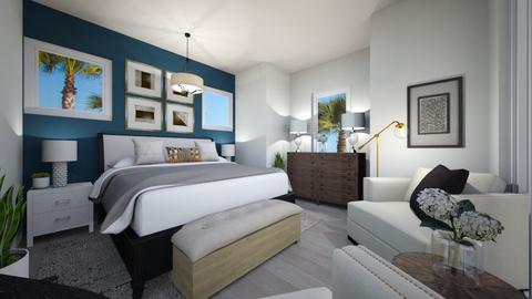 Summer Bedroom - Classic - Bedroom  - by andreadesign111