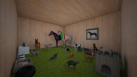 my animal room - Garden  - by dunlopgirl