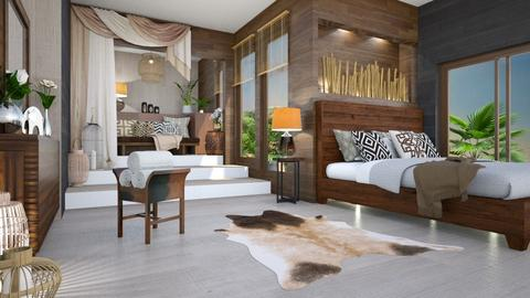 maratab - Country - Bedroom  - by mari mar