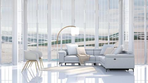 White as Snow - Modern - Living room  - by millerfam