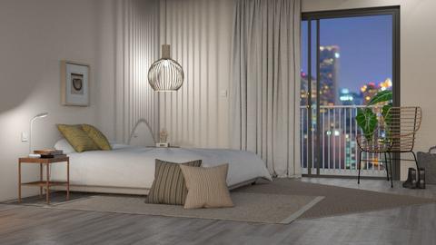 The Minimal Bohemian - Bedroom  - by GraceKathryn
