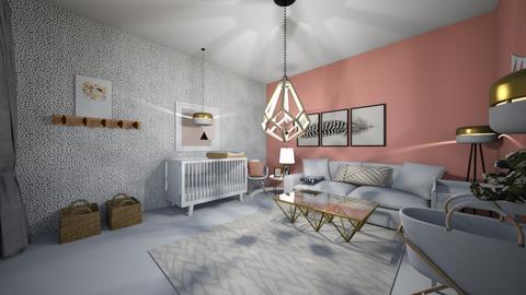 baby room - Bedroom  - by tessmcquillan